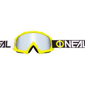 O'Neal B-10 Lunettes de protection, twoface hi-viz-mirror silver